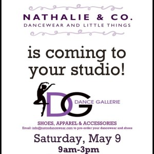 Hey West Valley! We'll be in town at Dance Gallerie Performance Center #DanceGallerie THIS Saturday, May 9! Get all your recital gear at our pop-up shop 9am-3pm!